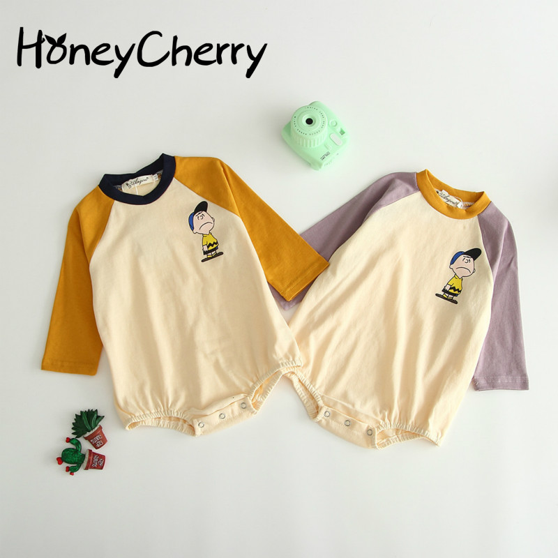 Autumn Baby Bodysuit 2020 Baby Girl Long-sleeved Pure Cotton Breathable Hat-jacket Climbing Suit And Bottom-wrapping(No Sock)