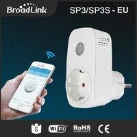 Original Broadlink SP3 SP3S Smart Power Socket Plug Energy Monitor Smart Wireless WiFi Socket Remote With