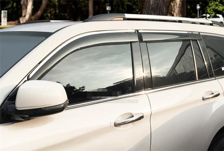 For Mercedes Vito 2003-2014 Window Side Visors Sun Rain Guard Vent Deflectors