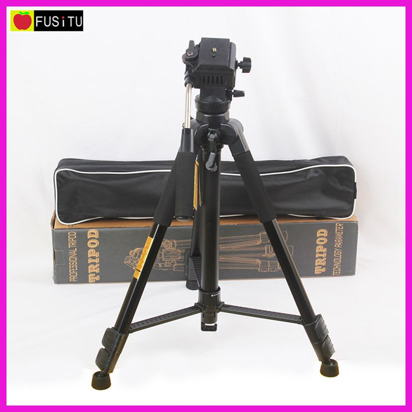 QZSD Q333 Professional SLR camera Tripod Camera Tripod with Ball Head & Quick Release Shoe/ Plate ms 004h camera professional tripod ball