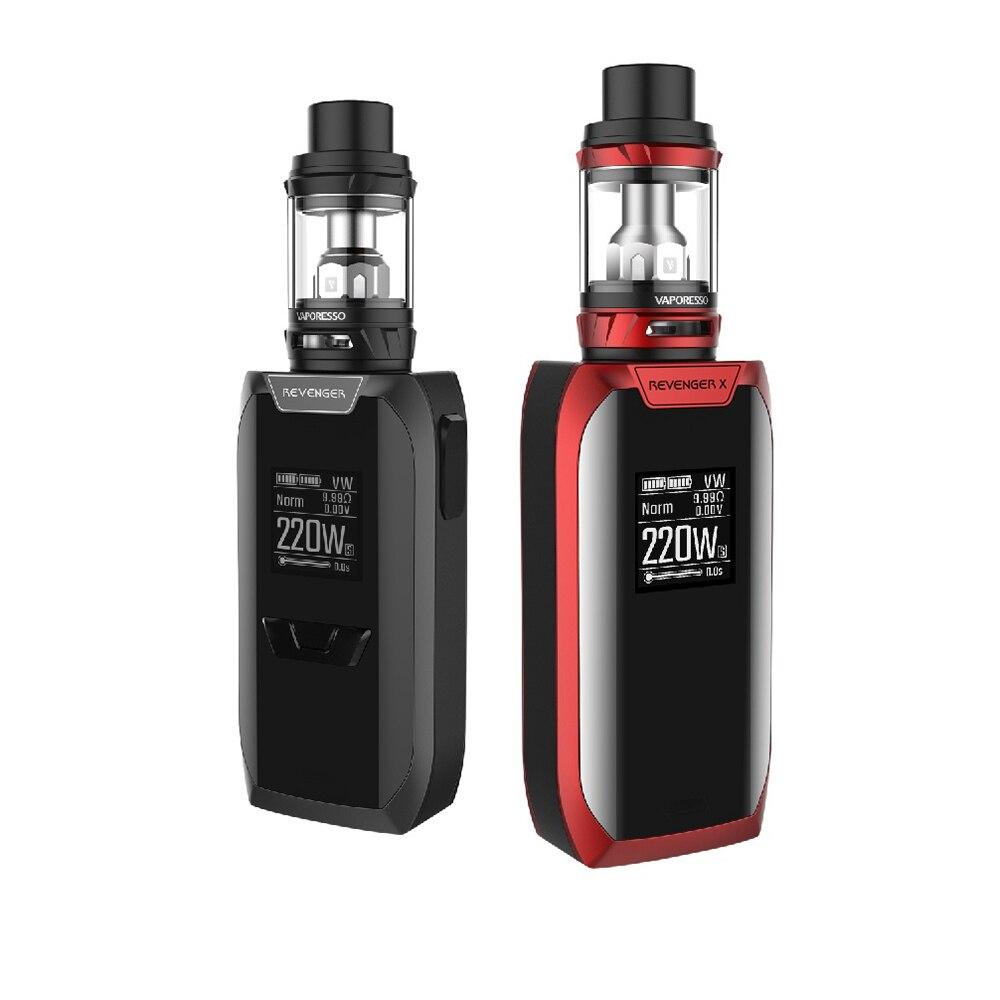E-cigarettes 220 w Vaporesso Revenger X TC Kit avec 5 ml/2 ml NRG Tank & OMNI conseil 2.2 Puce & GT Noyaux Non 18650 Batterie Vape Kit - 3