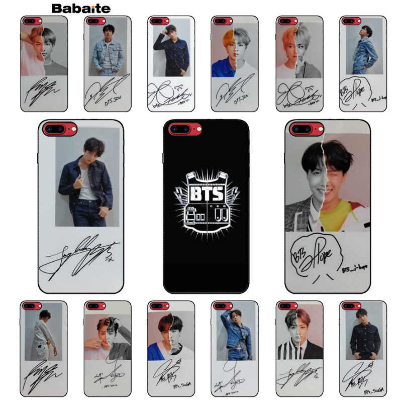 Babaite BTS Bangtan Boys you never walk alone чехол для сотового телефона чехол для iPhone 5 5S SE 6 6 S Plus 7 8 XR X XS MAX Coque Shell