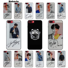 Babaite BTS Bangtan Boys you never walk alone чехол для сотового телефона чехол для iPhone 5 5S SE 6 6 S Plus 7 8 XR X XS MAX Coque Shell(China)