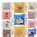 Cobertor de pelúcia 1 pc 150 cm totoro Ponto Pato Donald doraemon urso ar condicionado almofada brinquedo de pelúcia presente criativo para bebê