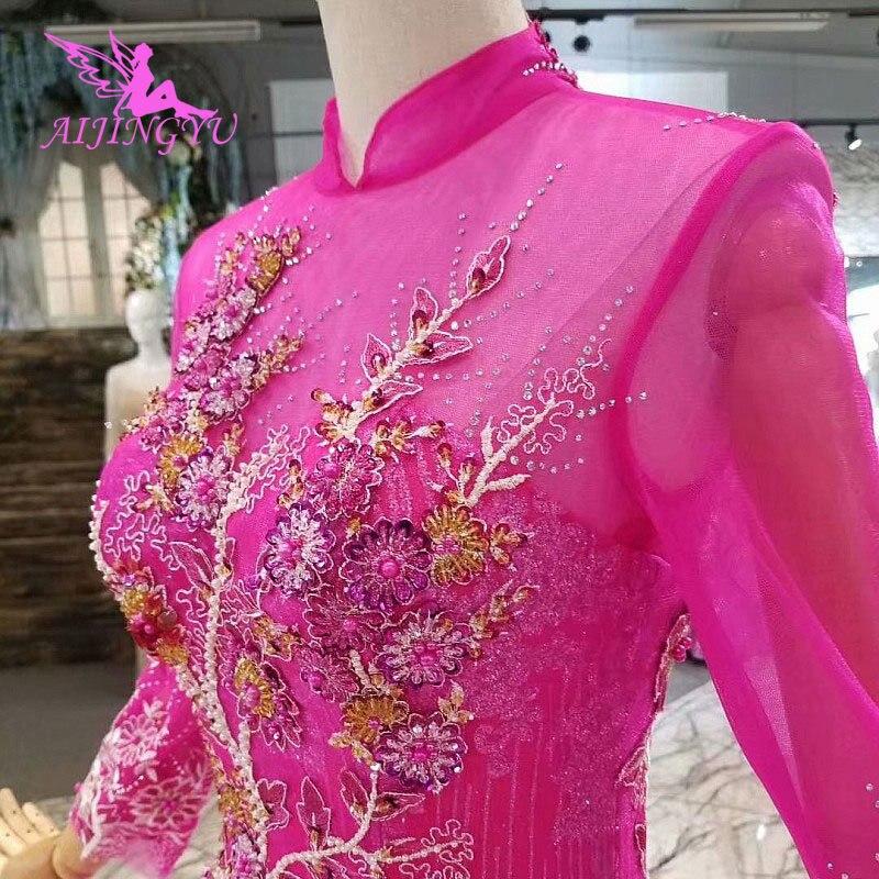 AIJINGYU винтажное платье Свадебные платья со звездами индийские Дешевые Великобритании винтажные Boho женские белые сексуальные индийские пла...