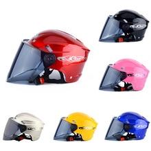 Hot Motorcycle Helmet Unisex Men Women Electric Battery Summer Riding Safety Helmets JLD