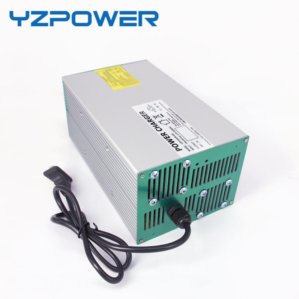 YZPOWER 58 4V 15A 14A 13A 12A 11A Lifepo4 Battery Charger for 48V Ebike E bike