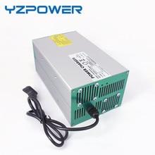 YZPOWER 58.4 V 15A 14A 13A 12A 11A Lifepo4 Chargeur de Batterie pour 48 V Ebike e-bike Batterie avec 4 Ventilateur De Refroidissement
