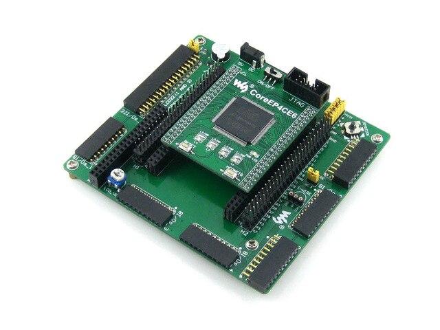 Waveshare Placa EP4CE6 EP4CE6E22C8N ALTERA Ciclone IV FPGA Altera Ciclone Placa de Desenvolvimento Kit Todos Os I/Os = OpenEP4CE6-C Padrão
