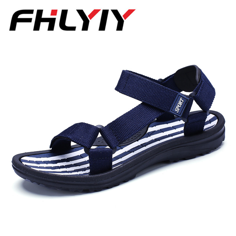 2018 New Summer Students Sandals Men Breathable Sneaker Male Shoes, Summer MenS Slippers Casual Sandals Tenis Masculino Adulto
