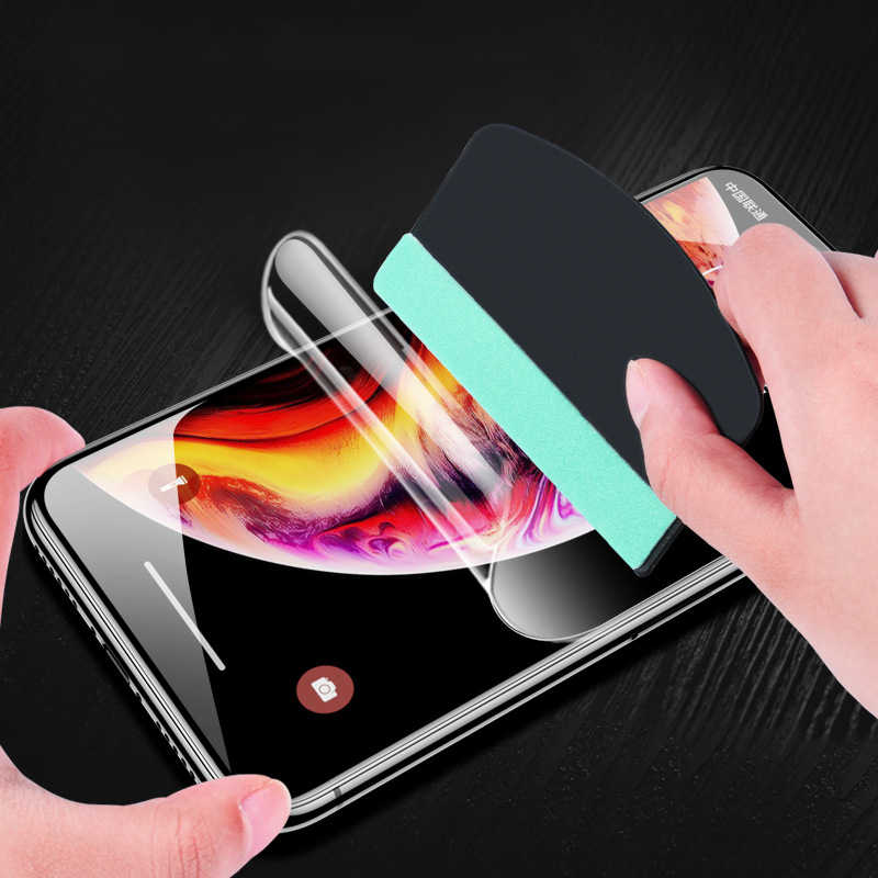 Soft Hydrogel Film For Samsung A50 A60 A70 A80 A90 A10 A20 A30 M10 M20 M30 Full Protective Cover Screen Protector Film Not Glass