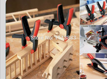 High Quality 6.5(165mm) Nylon Plastic Spring Clamp Woodworking Clip A Type Clamps For Tools