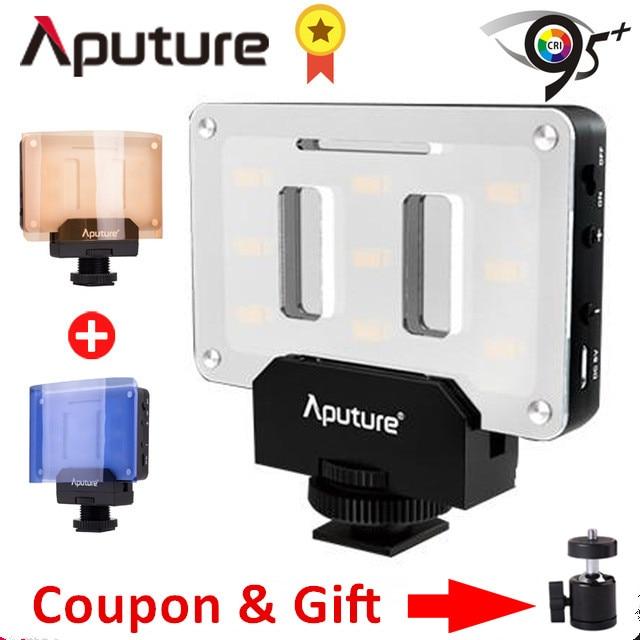 Aputure AL M9 Pocket Mini LED Video Light on Camera Video Light for Nikon Canon DSLR