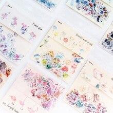 40 шт./пакет освежающий цветок, бумажные наклейки миньонов посылка DIY дневник декоративные наклейки альбом для скрапбукинга