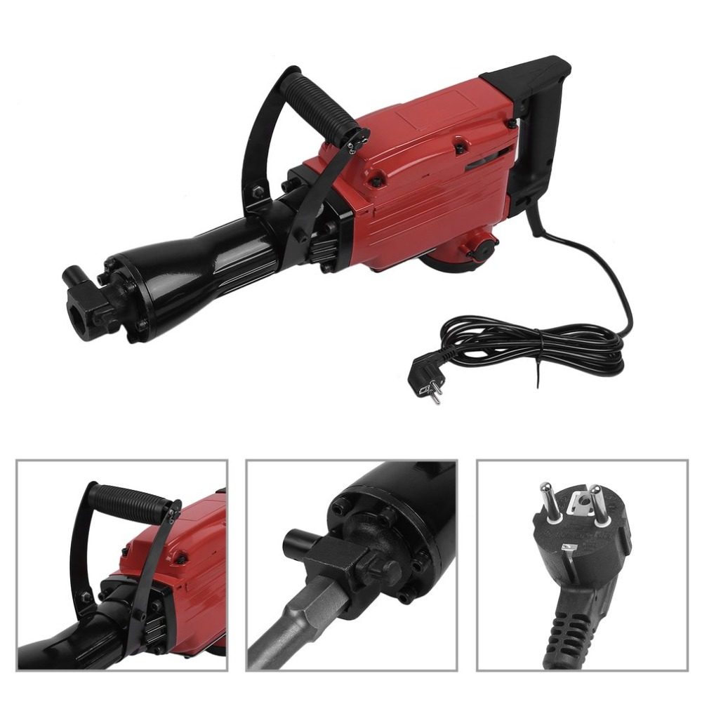 1850W Impact Industrial Electric Hammer Set With Drill Accessories For Wood Metal Wall Crashes Powerful Tool EU professional abhaya kumar naik socio economic impact of industrialisation