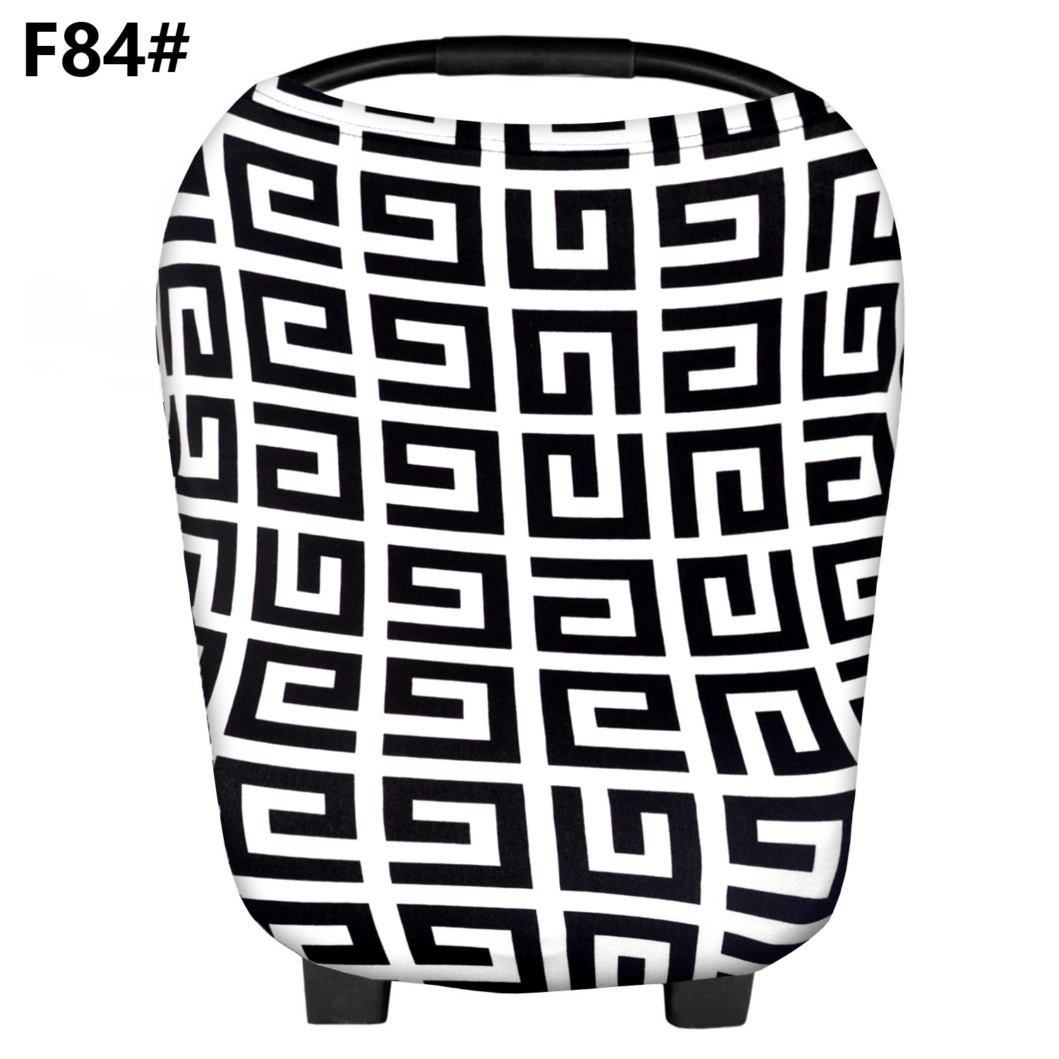 Breastfeeding Nursing Cover Scarf cotton maze pattern Baby CarSeat Canopy, Shopping Cart, Stroller Covers for infant boy &girl
