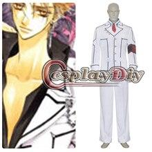 Anime Vampire Knight Class Boy Kaname Kuran Uniform Suit Cosplay Costume Custom Made