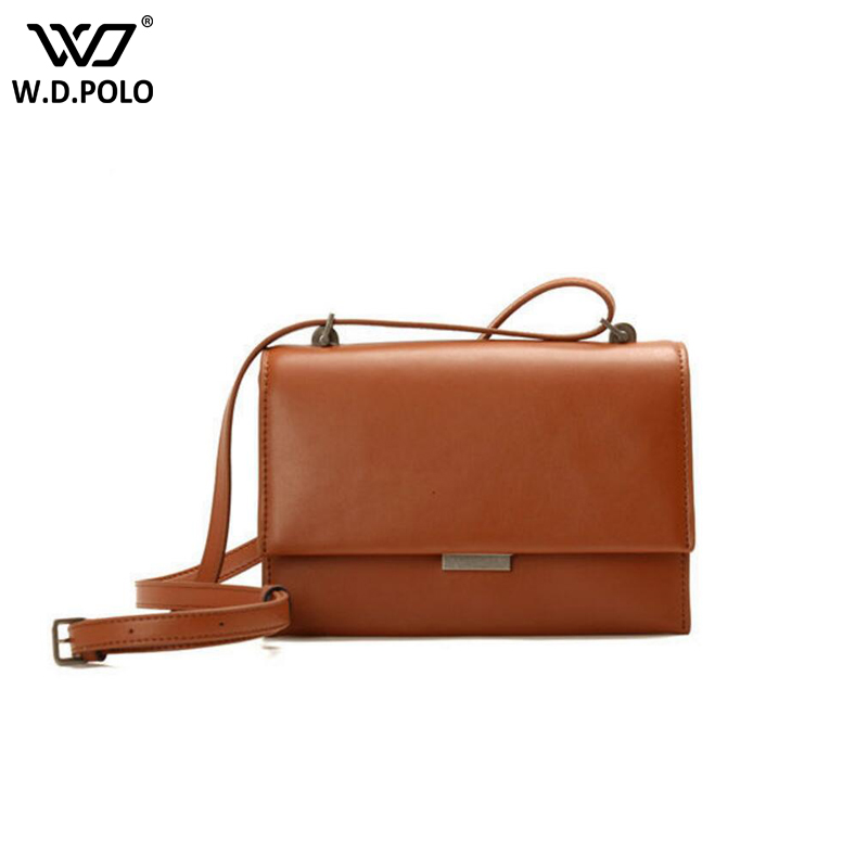 WDPOLO new women Handbags flap Women Messenger Bags small size Women Bag real leather Luxury Cross-Body Tote Bags C373 twenty four women brand flap bags natural genuine leather handbags with chain solid color cover small bags young cross body bags