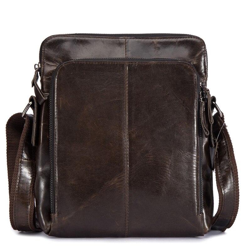 Echtem Leder Umhängetasche für Männer Mini Business Aktentasche männer Schulter Umhängetasche Männlichen Reise Handtasche Große Casual Tote