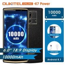 Oukitel K7 Güç 10000 mAh 2 GB RAM 16 GB ROM 6.0
