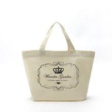 カスタマイズバッグ再利用可能なキャンバスミニコットンバッグ