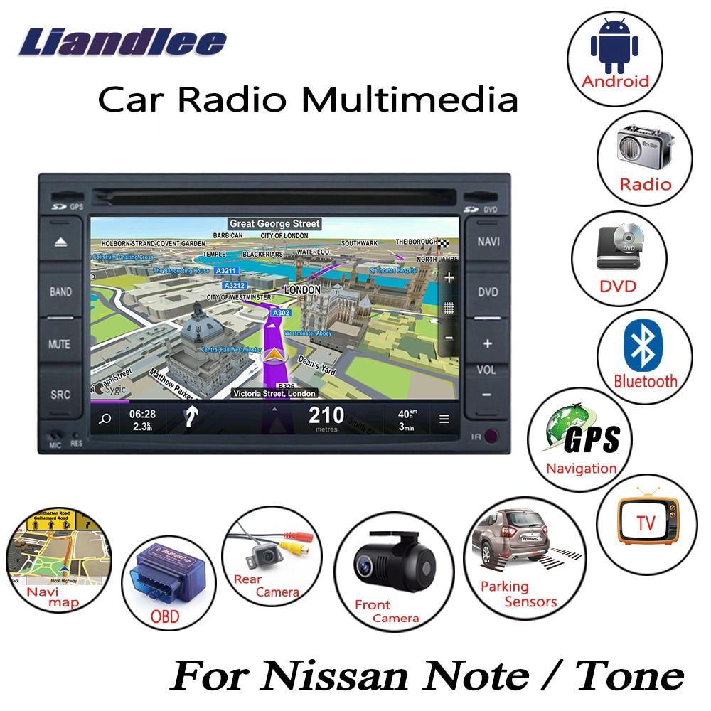 radio cd player Liandlee For Nissan Note Tone 2005~2012 Android Car Radio CD DVD Player GPS Navi Navigation Maps Camera OBD TV Screen Multimedia1