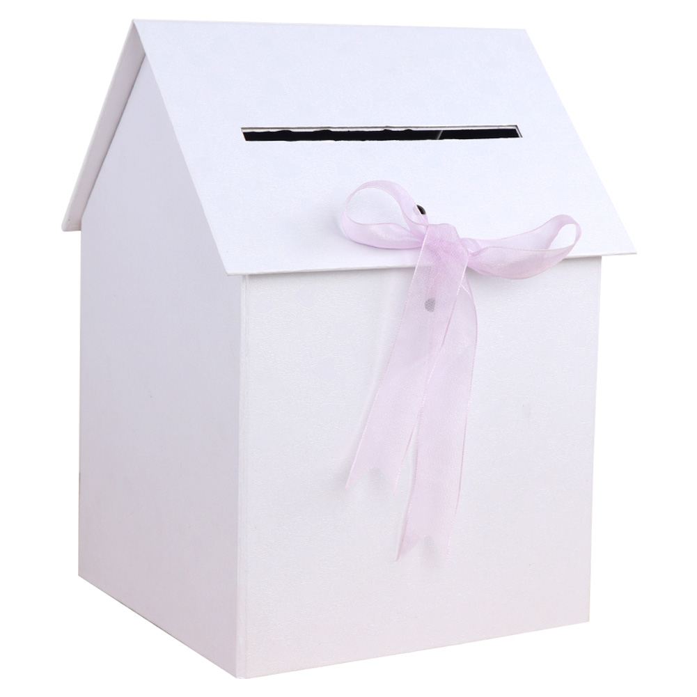 WHITE SILK FAVOUR BOXES GIFT PACKAGING WEDDING TABLE DECORATION CRAFT STORAGE