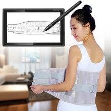 Новые поясничные поддержки эластичные дышащие сетки здравоохранения со стальной поддержкой талии корсет для поддержки спины ремни для бодибилдинга