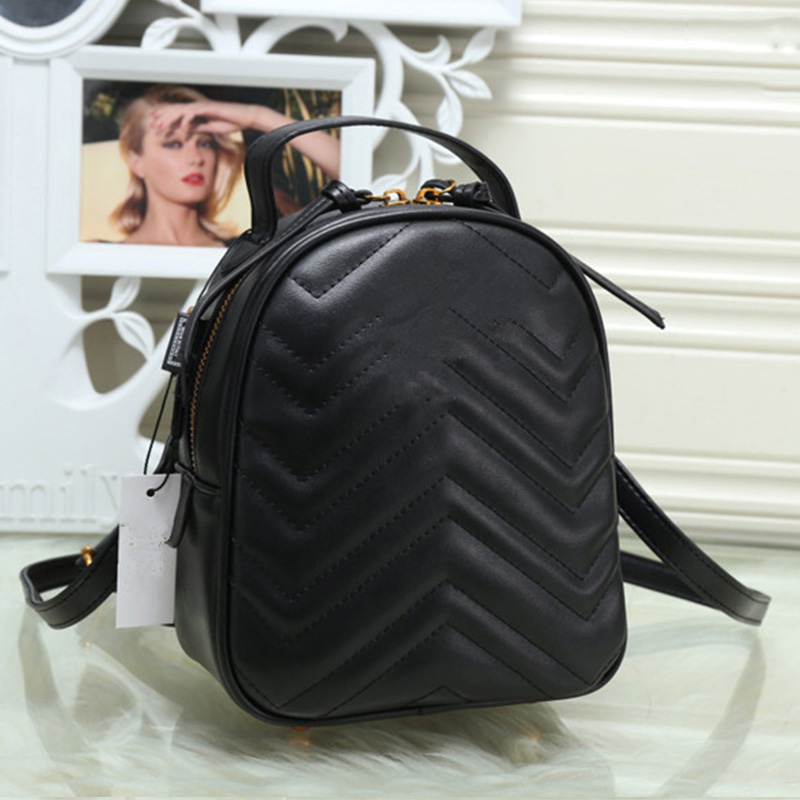 Luxury Brand Designer Women Backpack PU Leather Shoulder Bag Mini School Bag for Girl Large Capacity Travel Bag gg mochila 2017 brand designer women simple style backpack fashion pu leather black school bag for girls large capacity shoulder travel bag