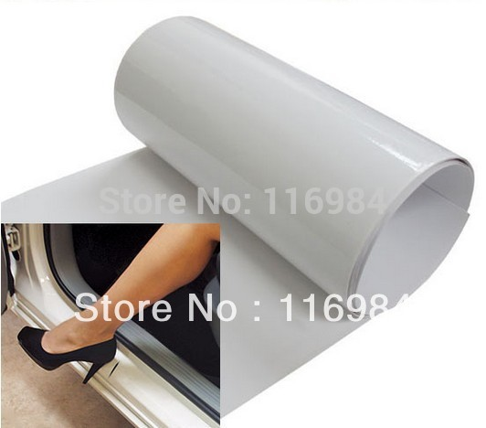 """60/""""x 6/"""" Car Door Sill Edge Paint Clear Protection Scratches Vinyl Film Sticker"""