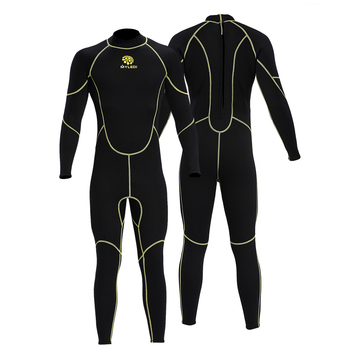 # 3mm Back Zip Full Body Wetsuit Swimming Surfing Snorkeling Equipment Water Sports Wet Jump Suits Jumpsuit Swimwear Wetsuit