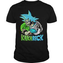 Rick And Morty Vs Dbz Kakarick Shirt Harajuku Tops t shirt Fashion Classic Unique t-Shirt