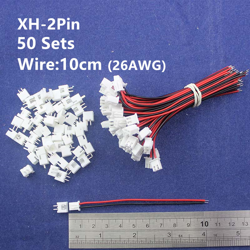 50 sets 2pin 2 54mm Pitch 10cm 26AWG Wire Pin Header Housing Terminal Connector Wire Connectors aliexpress com buy 50 sets 2pin 2 54mm pitch 10cm 26awg wire pin wire harness housing crimp terminal header connectors at bayanpartner.co