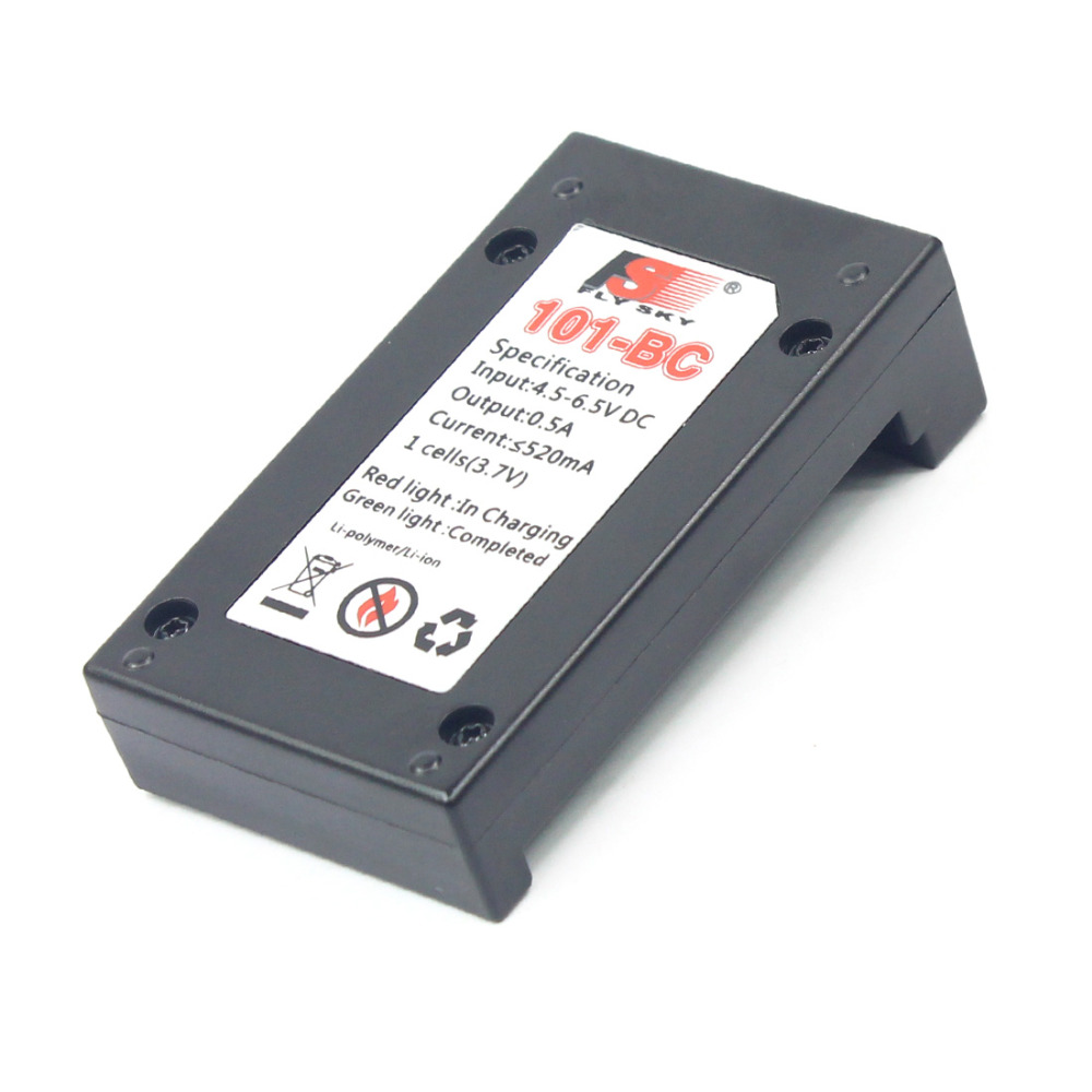 Flysky FS-BC101 USB Charger for 800 1000 1700mAh Lipo Battery FS i10 GT2B IT4 TX