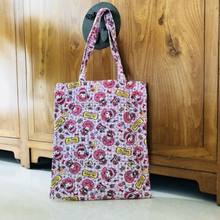 4d686b052e My Melody pink bowknot shoulder bag shopper bags lunch bag storage handbag  zip