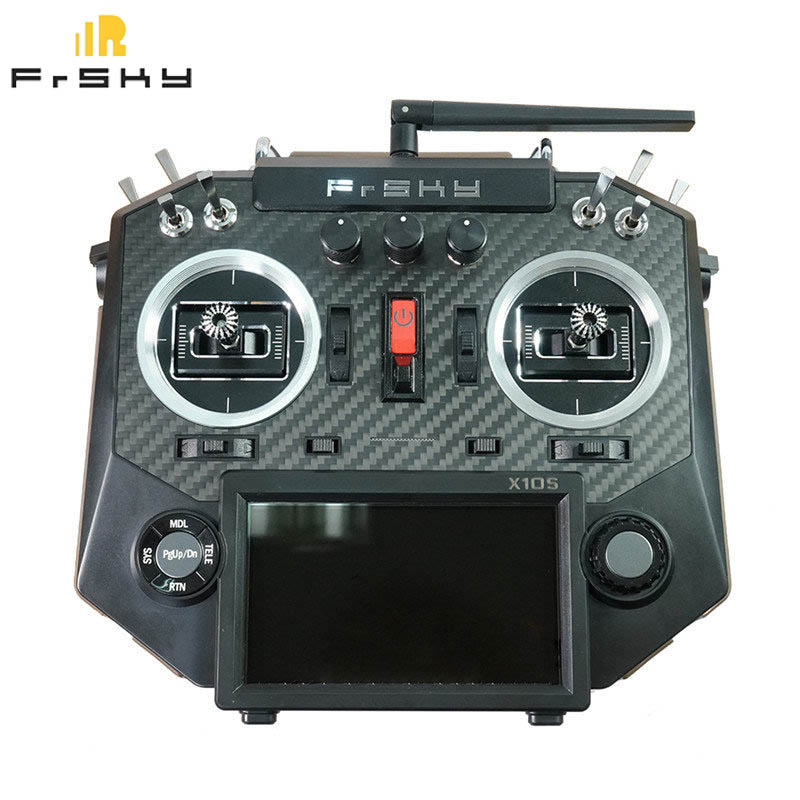 FrSky Horus X10S 16 CH RC Émetteur Mode 2 MC12plus Cardan En Aluminium Emballage Télécommande Pour RC Jouet VS ACCST taranis Q X7