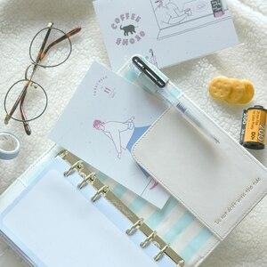 Image 4 - Lovedoki Koreaanse Creatieve Planner Kit Notebook & Bullet Tijdschriften A6 Planner Organisator Agenda 2019 Dagboek Kantoor & School Supplies