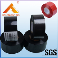 HOT SALE Black Width 35mm length 100m hot stamp date ribbon for PP PVC PET bags|Tool Parts| |  -