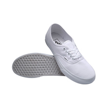Original Vans Classic Unisex White Skateboarding Shoes sports Shoes Sneakers free shipping