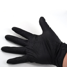 10 Pcs Tattoo Body Art Black Disposable Tattoo Latex Gloves Available Size Accessories Tattoo Accessories