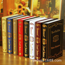 10PC  gold foil decoration Book manufacturers direct simulation photography props home false 0616 book