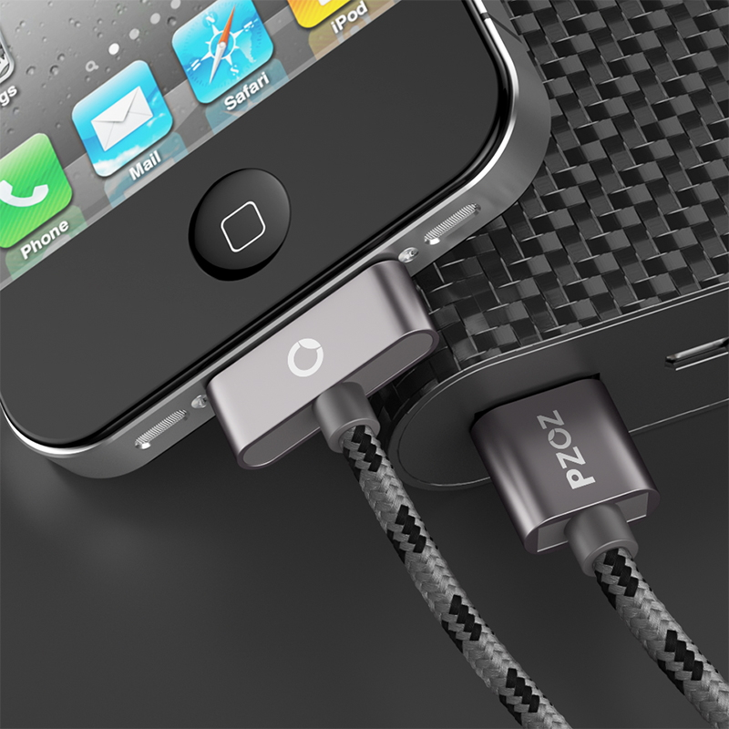 PZOZ USB մալուխի լիցքավորում արագ iphone 4 s 4s - Բջջային հեռախոսի պարագաներ և պահեստամասեր - Լուսանկար 5