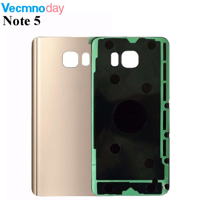 Vecmnoday Replacement Housing Door Battery Back Cover For Samsung Galaxy Note 5 Note5 N920 N920F Back Battery Cover case