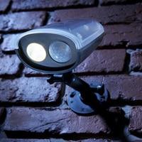 High Quality Cordless Motion Activated PIR Sensor Wireless Solar Power Security Light Outdoor LED Solar Lamp Spotlight Best Sale