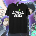 Mob Psycho 100 T-shirt Japan Anime Cosplay T Shirts Men Cotton Short Sleeve Tees