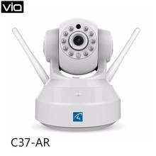 Vstarcam c37-ar envío libre alarma de la cámara ip de dos vías de audio apoyo sensor de puerta/motion detector domótico seguridad alarma