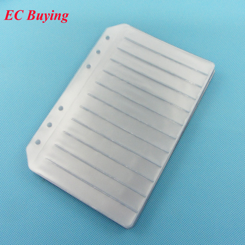 15pcs Resistor Capacitor Inductor IC SMD SMT Components Sample Book Empty Page For 0402/0603/0805/1206 Electronic Component