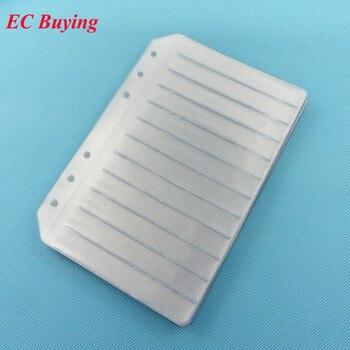 15 sztuk rezystor kondensator cewki IC SMD SMT komponenty próbki książka pusta strona dla 0402/0603/0805/1206 element elektroniczny