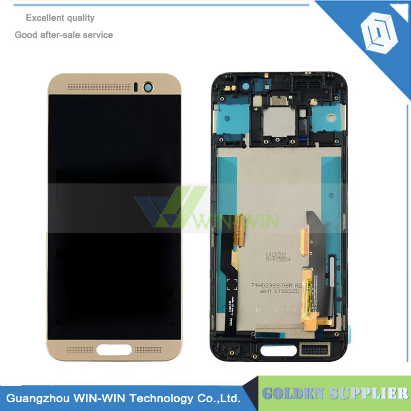 Black color 5.2' LCD Display Digitizer For HTC One M9+ Touch Screen Digitizer Assembly For HTC One M9+ M9 Plus Free Shipping lcd screen display touch panel digitizer for htc bolt for htc 10 evo white or black color free shipping