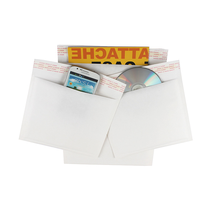0 6x10inch 180x235mm White Kraft Paper Bubble Envelopes Bags Padded Mailers Shipping Envelope With Bubble Mailing Bag 10pcs in Paper Envelopes from Office School Supplies